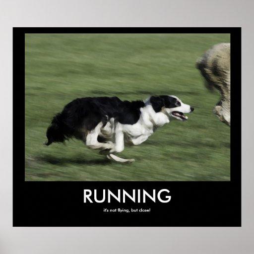 RUNNING demotivational poster   Zazzle