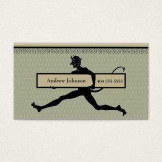 Running Devil Business Card
