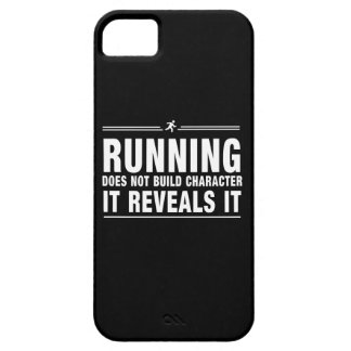 Running Doesnt Build Character iPhone SE/5/5s Case