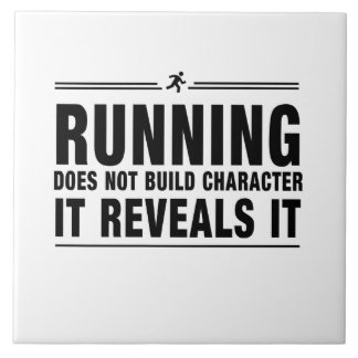 Running Doesnt Build Character Tile