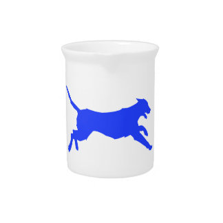 Running Dog Beverage Pitcher