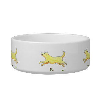 Running Dog Bowl