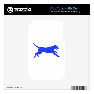 Running Dog iPod Touch 4G Decal