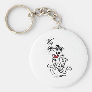 Running Dog Keychain