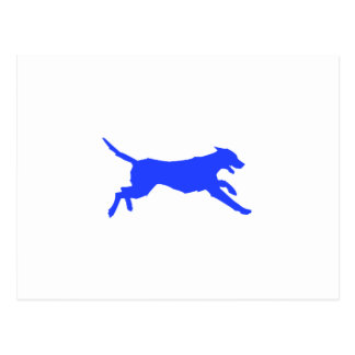 Running Dog Postcard