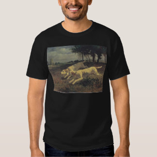 Running dogs by Constant Troyon T-shirt