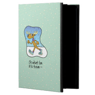 Running Exercise Reindeer Christmas iPad Air Case