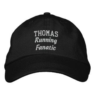 RUNNING Fanatic Custom Name Any Hobby or Sport Embroidered Baseball Cap