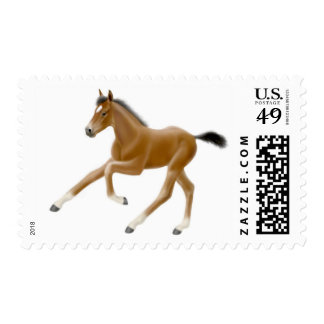 Running Foal Postage
