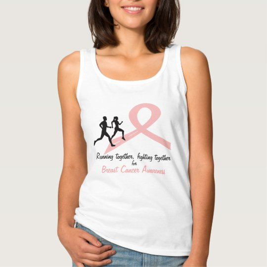 Running for a Cause - Pink Tank Top