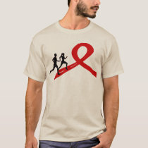 Running for a Cause T-shirt Red