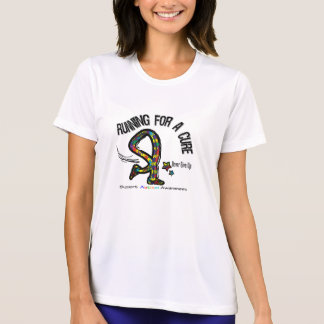 Running For A Cure Autism Shirt