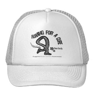 Running For A Cure Brain Tumor Hats