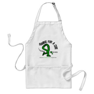 Running For A Cure Cerebral Palsy Adult Apron