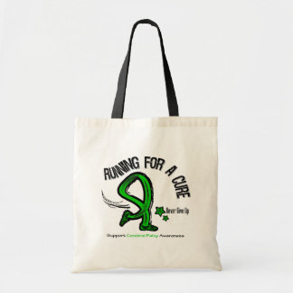 Running For A Cure Cerebral Palsy Budget Tote Bag