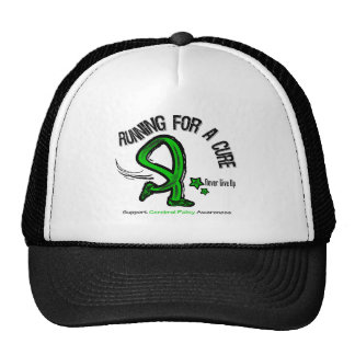 Running For A Cure Cerebral Palsy Trucker Hat
