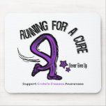 Running For A Cure Crohn's Disease Mousepads