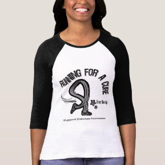 Running For A Cure Diabetes Tees