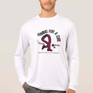 Running For A Cure Multiple Myeloma Tshirt