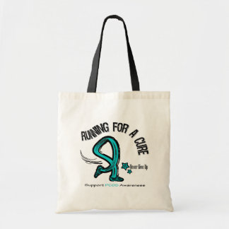 Running For A Cure PCOS Canvas Bag