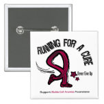 Running For A Cure Sickle Cell Anemia Button