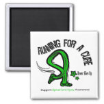 Running For A Cure Spinal Cord Injury Refrigerator Magnet