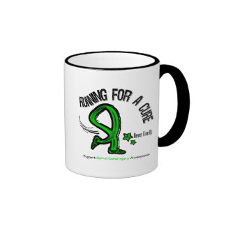 Running For A Cure Spinal Cord Injury Coffee Mugs