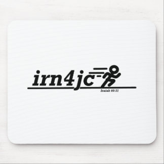 Running for Christ Mouse Pad