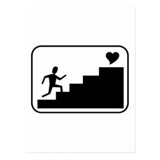 Running for Love Postcard
