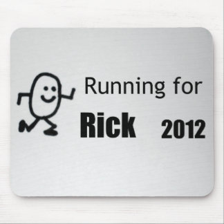 Running for Rick, 2012 Mouse Pad