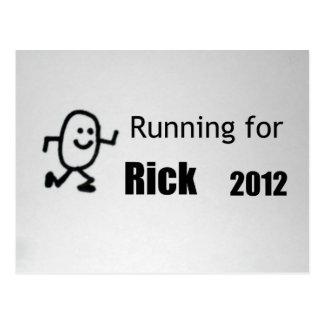 Running for Rick, 2012 Postcard