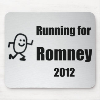 Running for Romney, 2012 Mouse Pad