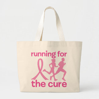 Running For The Cure Canvas Bag