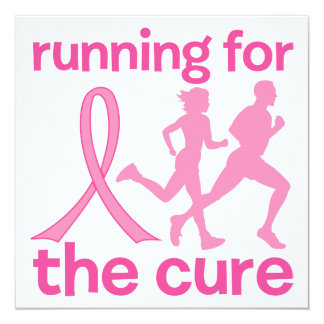 Running For The Cure Card