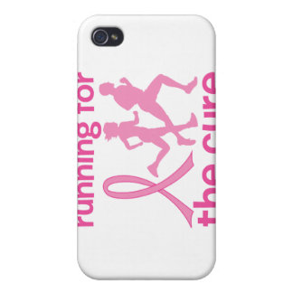 Running For The Cure Covers For iPhone 4