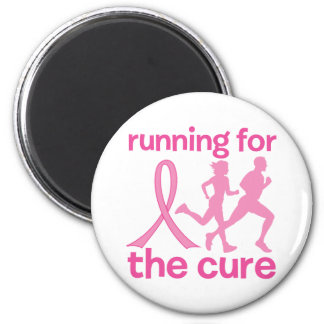 Running For The Cure Fridge Magnets