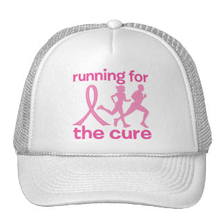 Running For The Cure Mesh Hats