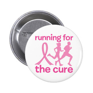 Running For The Cure Pinback Button