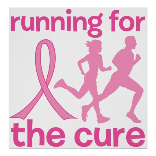 Running For The Cure Poster