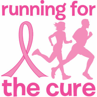 Running For The Cure Statuette