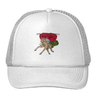 Running for the roses trucker hat