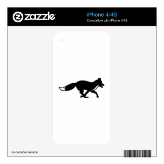 Running fox skins for the iPhone 4S