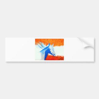 Running Free Bumper Sticker