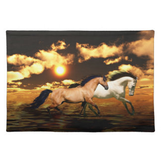 Running free cloth placemat