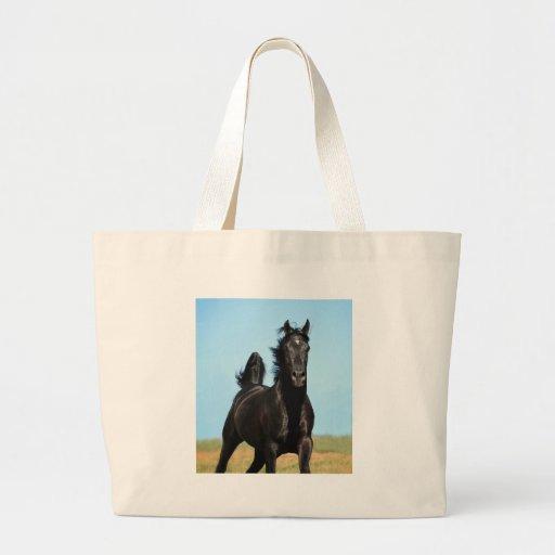 Running Free Jumbo Tote Bag