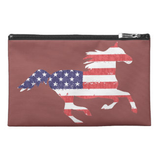 Running Free Patriotic Travel Bag Travel Accessories Bags