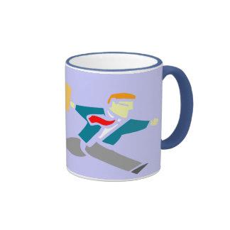 Running from love mug