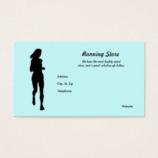 Running Gear Business Card