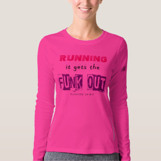 Running Gets the Funk Out - New Balance LS T-shirt