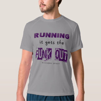 Running Gets the Funk Out - New Balance SS T-shirt